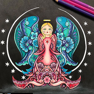 Coloring books by Masja