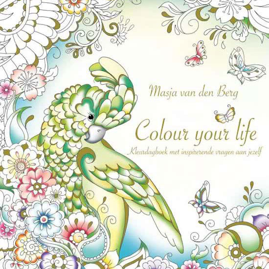 Colour your life  - notebook by Masja van den Berg
