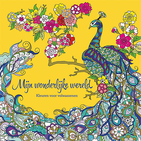 My Wondrous World 4  - coloring book by Masja van den Berg